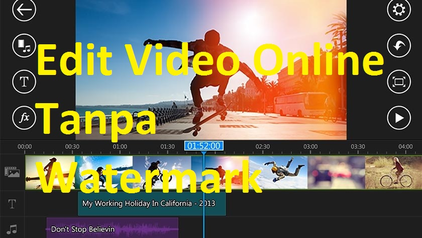 Edit Video Online Tanpa Watermark